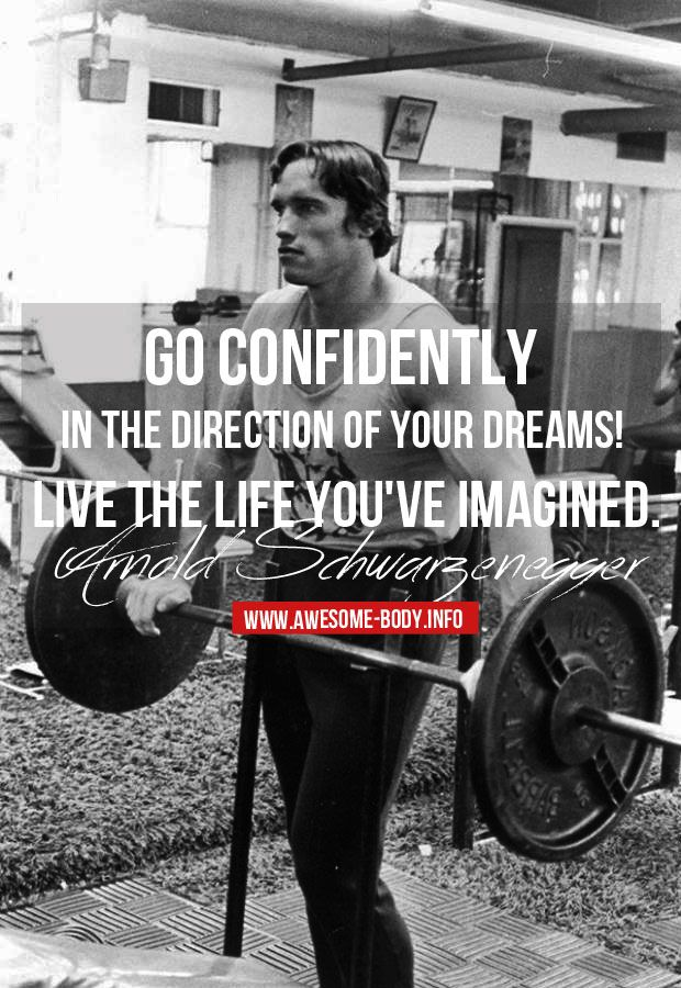 Arnold Schwarzenegger Motivational Quotes Fitness Gym