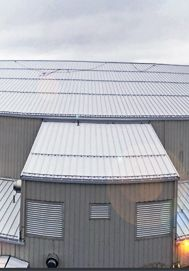 Multi Level Building Needing An Inexpensive Snow Guard Solution S 5 Colorgard Recommended By Sky Porducts Metal Roof Outdoor Decor Building
