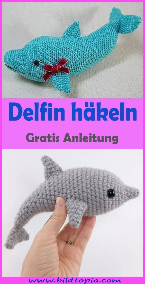 Photo of Delfin häkeln – kostenlose & einfache Anleitung – #Anleitung #Delfin #einfach …