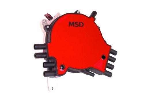 MSD Ignition 8381 Pro-Billet GM LT-1 Distributor; Incl. Cap/Rotor/Components For Installation;, aluminum