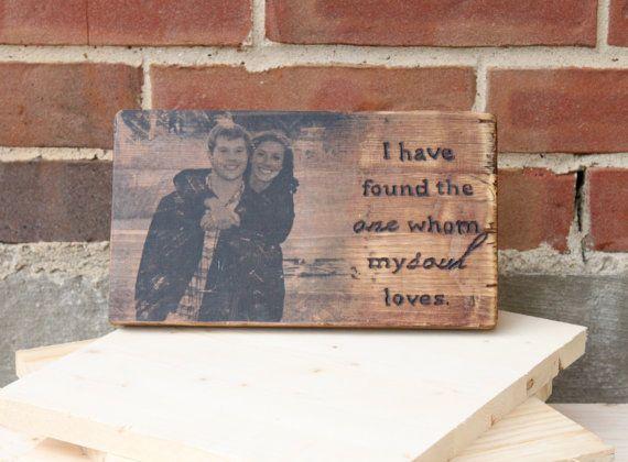 Custom Photo On Wood With Wood Burn Bible By CraftyHandsFullHeart, $30.00  Photo Wood Transfer. Valentine ...