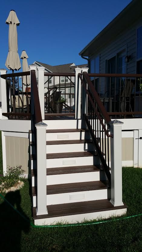 Pin By Fence Deck Connection On Stepping Up Dream House House Stairs