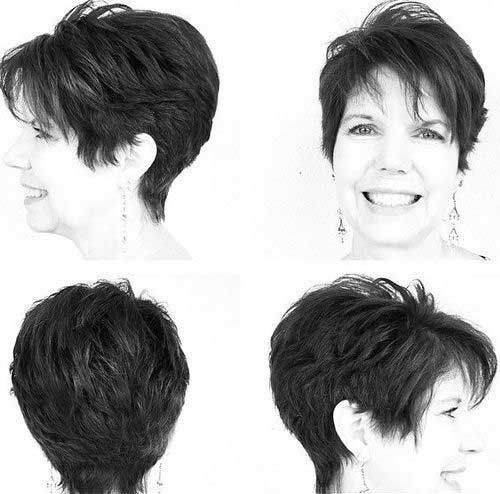cool 15 Pixie Hairstyles for Over 50 Short Hairstyles