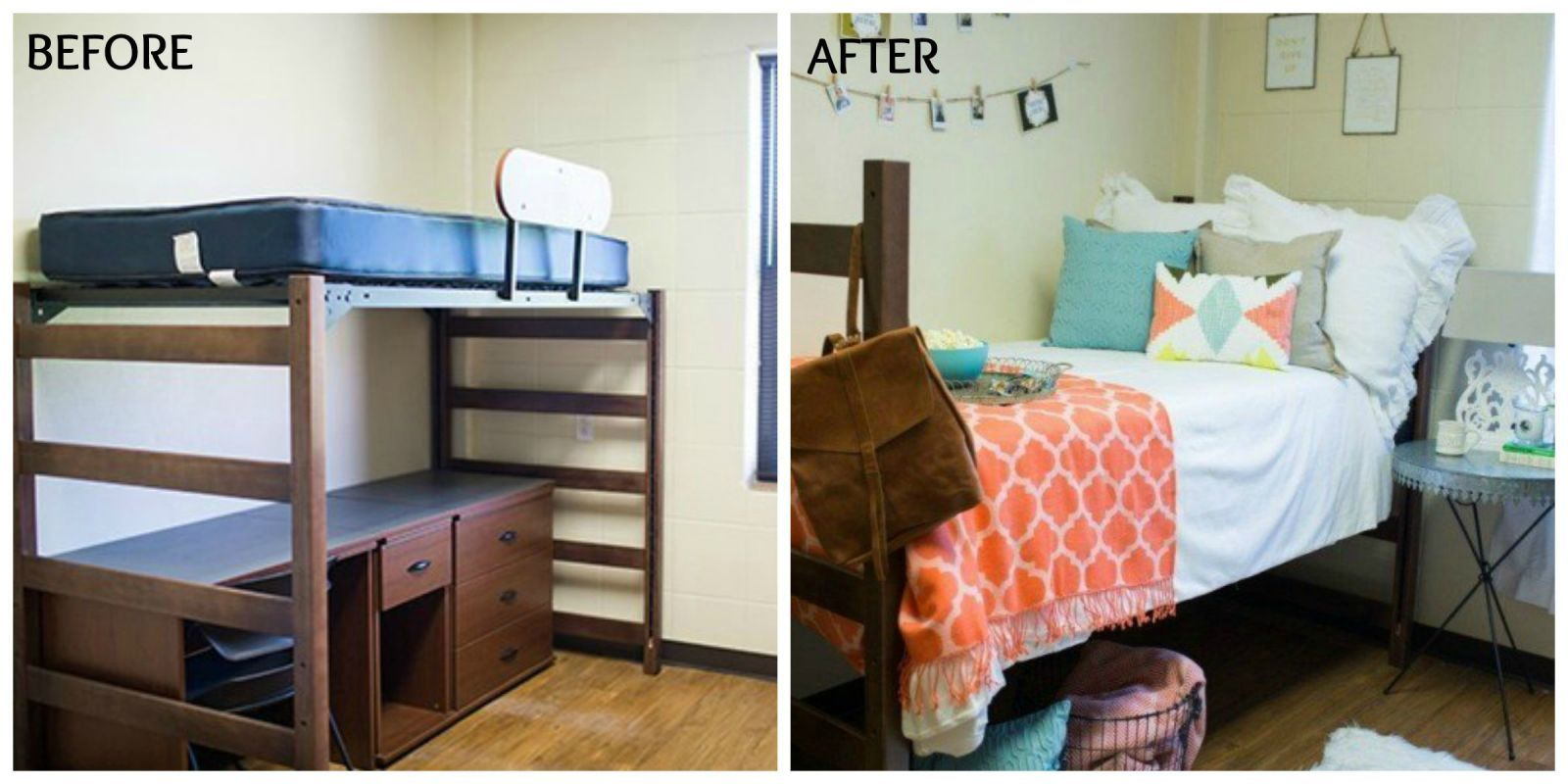 Joanna Gainesu0027 Dorm Room Decorating Ideas are