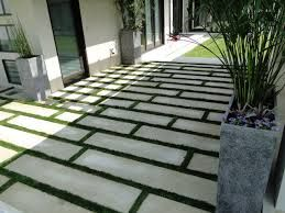 Gentil Large Cement Square And Rectangle Pavers   Google Search