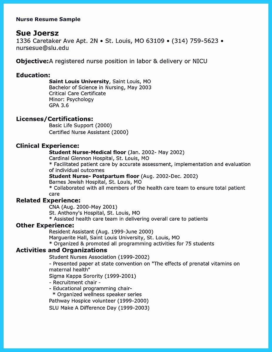20 Critical Care Nursing Resume Colimatrespuntocero Com In 2021 Nursing Resume Nursing Resume Template Student Nurse Resume