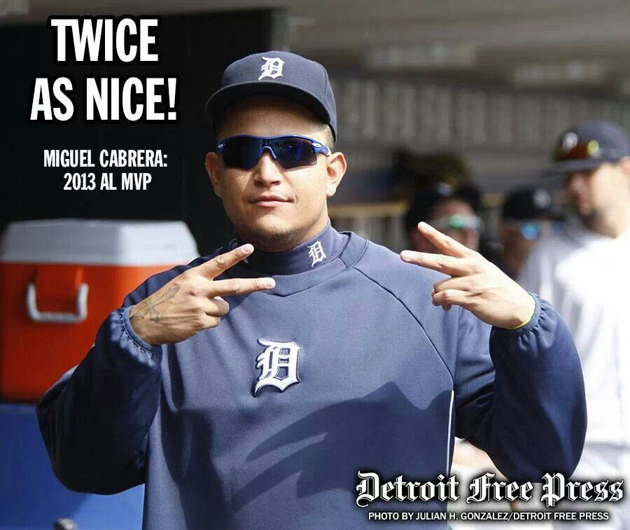 Twice is nice (With images) Miguel cabrera, Detroit