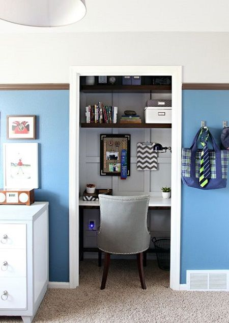 closet into office. 5 Awesome Closet Conversions - Into Office Closet Into Office