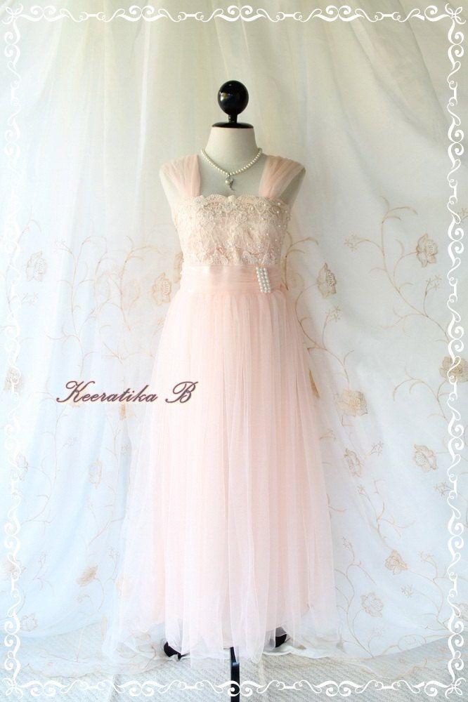 Light Pink Cinderella Prom Dresses