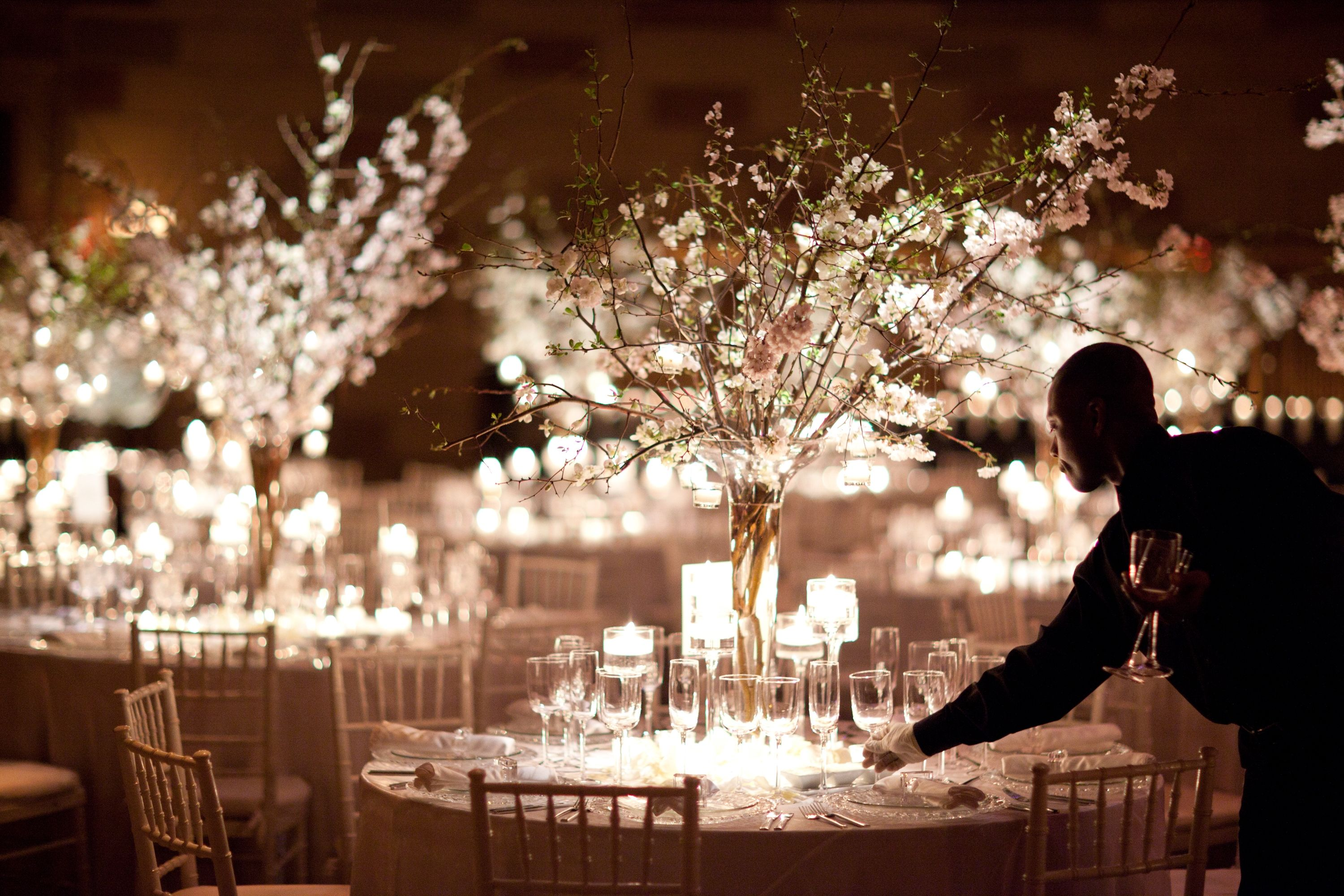 Branch Decorations Weddings Dogwood Branch Centerpieces At