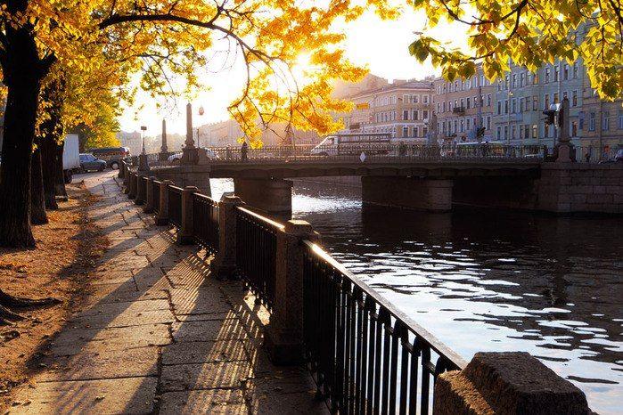 Осень в Санкт-Петербурге | Пейзажи, Городской пейзаж ...