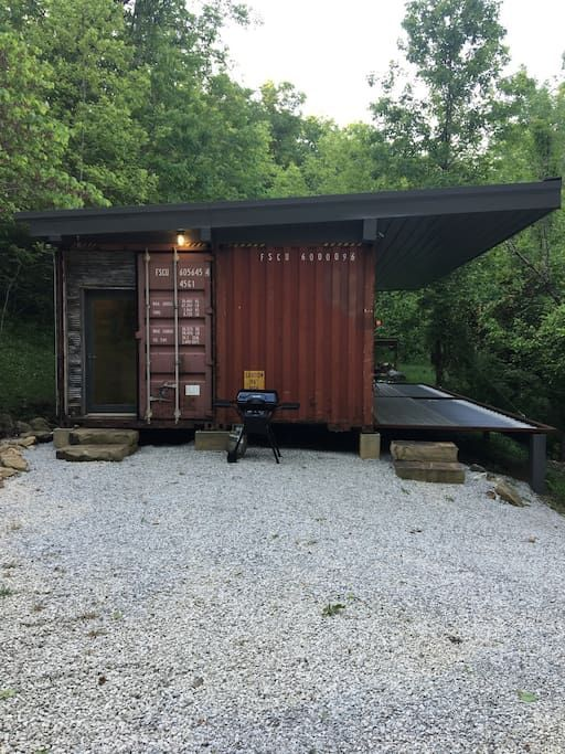 Shipping Container Cabin - Cabins for Rent in Slade, Kentucky, United States