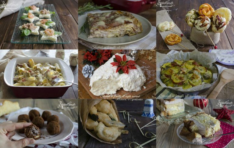 Buffet Di Dolci Di Natale : MenÙ per il pranzo di natale ricette facili e veloci da preparare