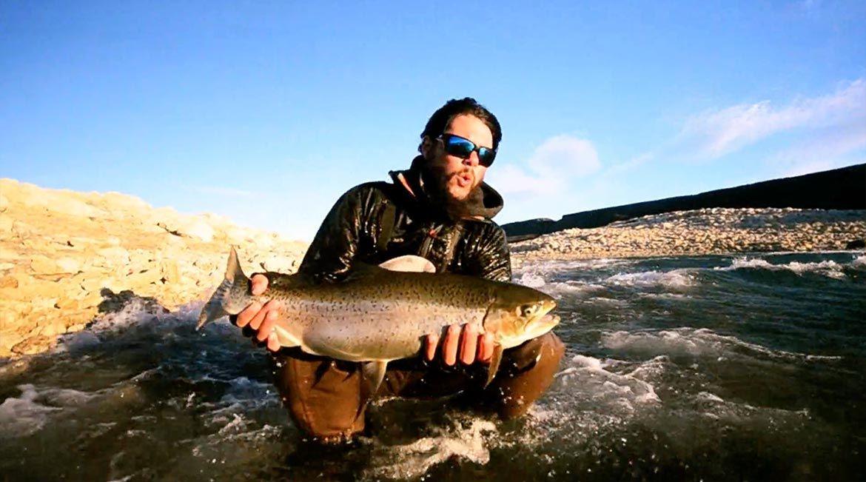 Strong Video From Strobel Lake Barrancoso River Argentina Argentina Lake River