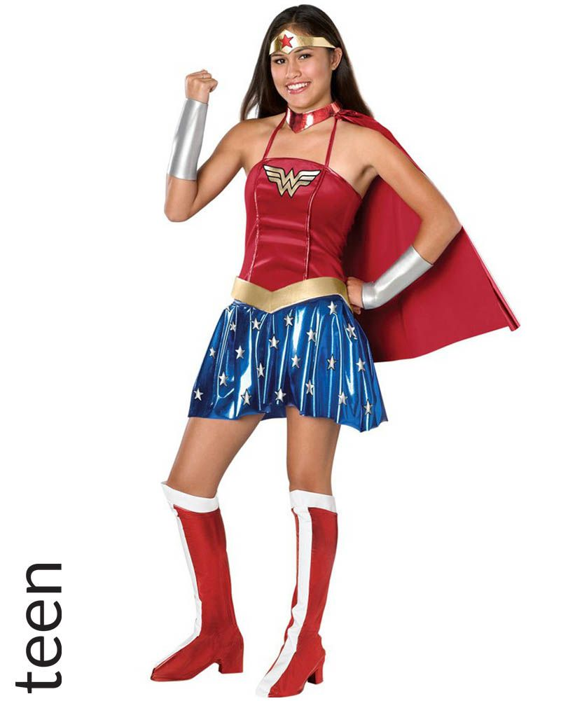 Wonder Woman Teen Girls Costume