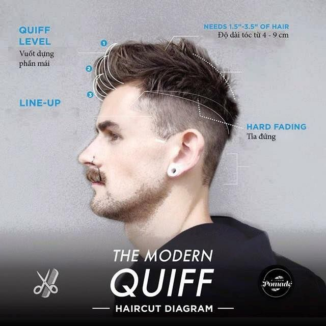 Trending Modern Male Haircuts With Diagrams For Your Barbar - Mens hairstyle 2015 quiff