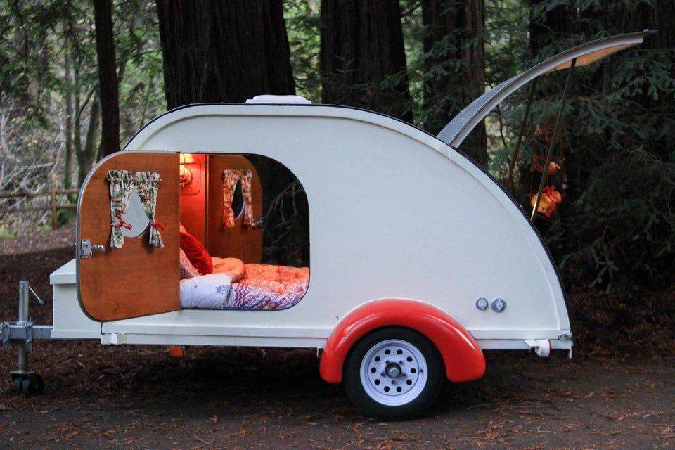 Teardrop Trailer CozyPlaces Traveling by yourself