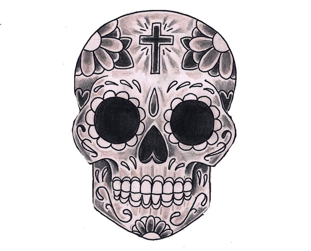 day of the dead skull coloring pages auromascom with printable sugar skull coloring pages - Simple Sugar Skull Coloring Pages