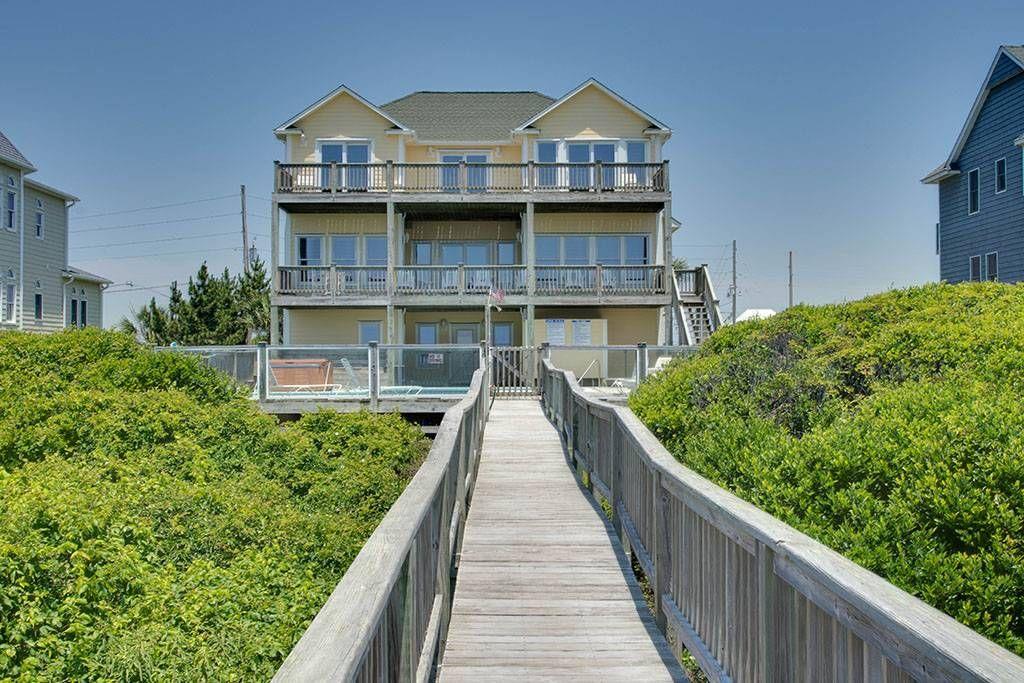 6 br 1 emerald oasis emerald isle nc oceanfront single family rh pinterest com