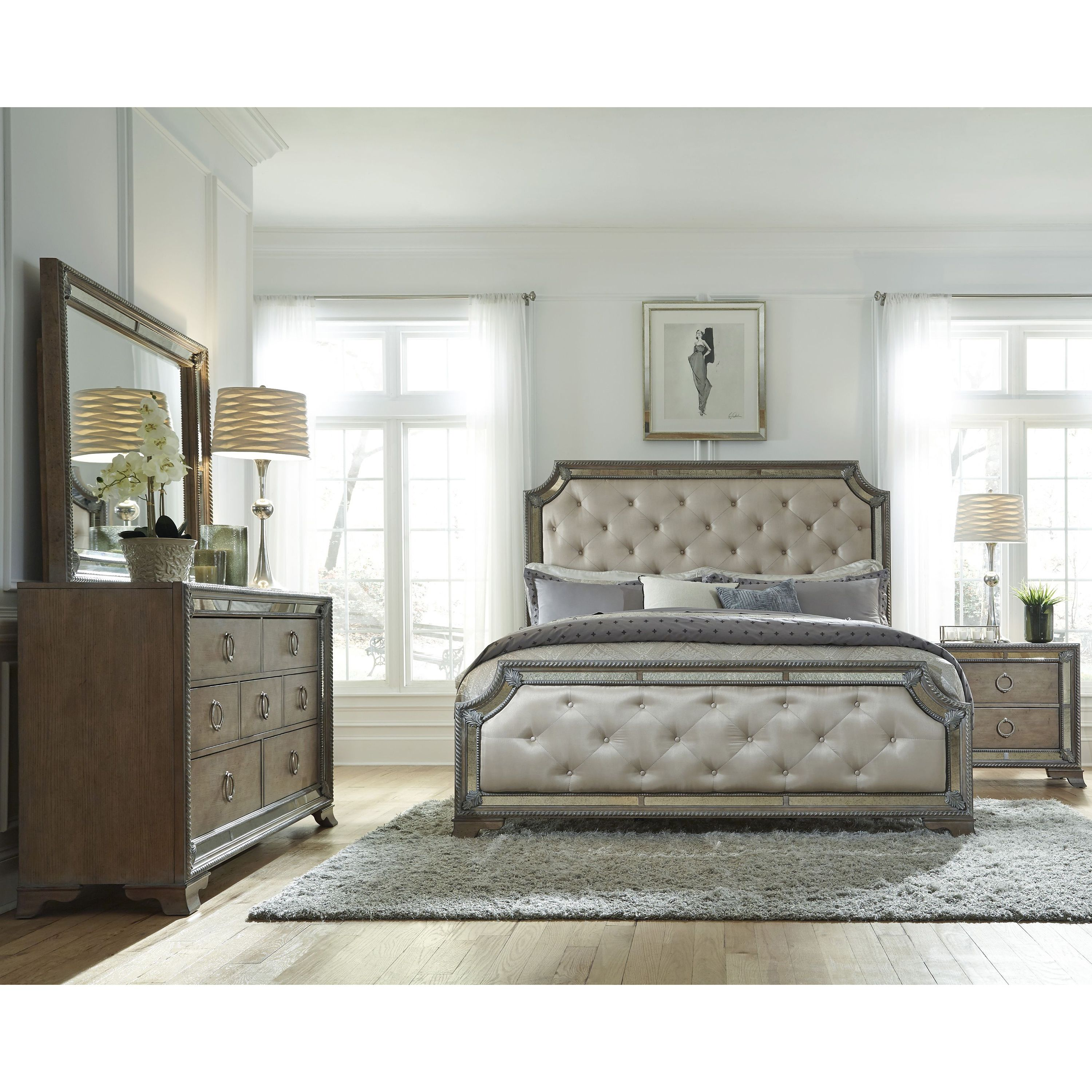 mariah king size bed frame products pinterest rh pinterest at