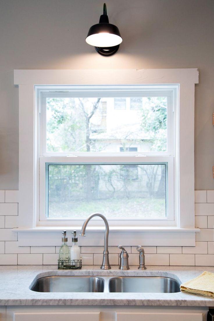 Best Window Trim Ideas Design And Remodel To Inspire You Windowmolding Windowtrim Kitchen Sink Window Farmhouse Interior Farmhouse Trim
