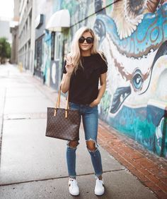 Image result for cute casual outfits with tennis shoes  New Ideas