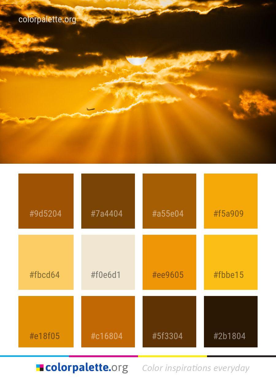sky sun cloud color palette color palettes pinterest palette rh pinterest fr