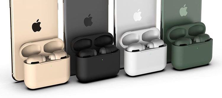 Airpods Pro Could Come In Eight Colors Including Black Gold And Midnight Green Airpods Pro Active Noise Cancellation Noise Cancelling