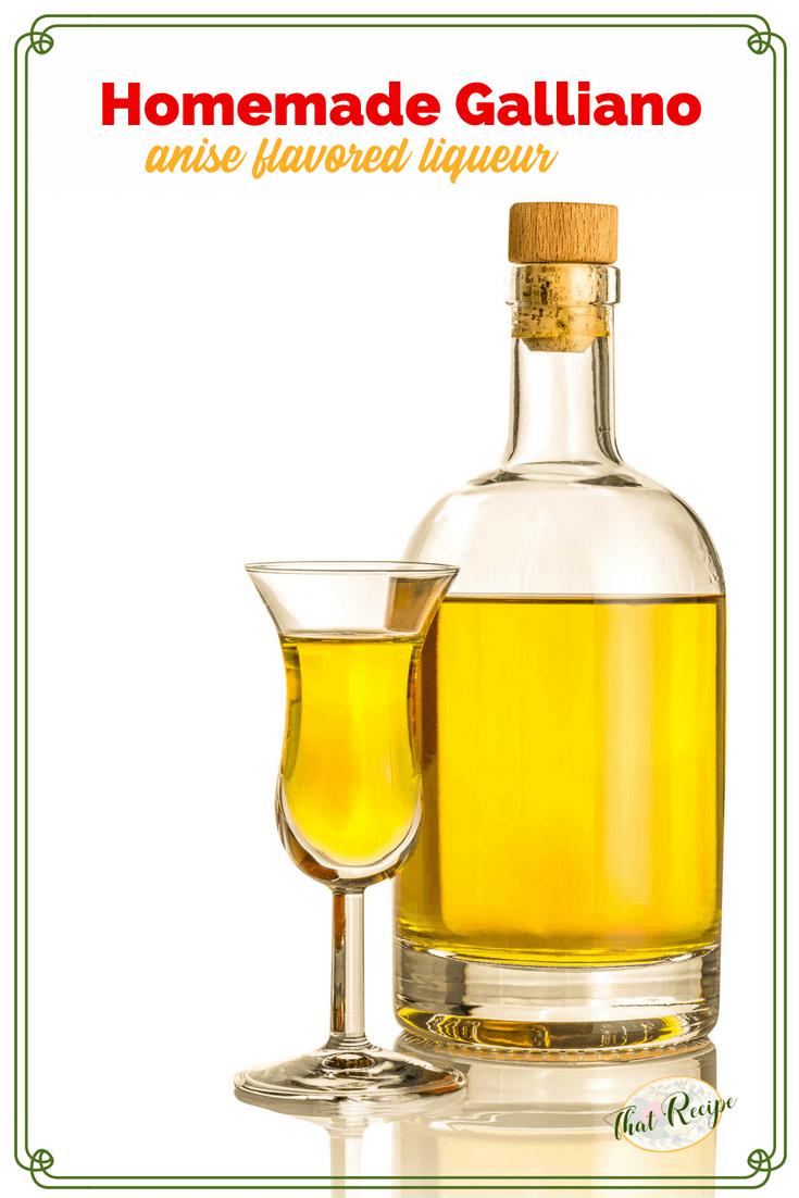 Homemade Galliano Anise Liqueur Makes A Sweet Gift Recipe Homemade Liqueur Recipes Liqueurs Recipes Liquor Drinks