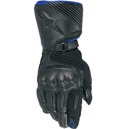 Alpinestars Apex Drystar Men's Waterproof Sports Bike Racing Motorcycle Gloves - Blue/black / Large http://www.motorcyclegoods.com/coolest-19-waterproof-gloves-for-men/
