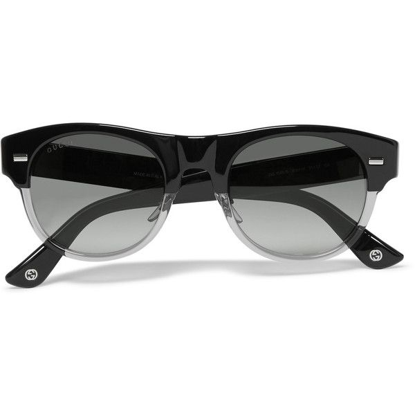 9e4f4194688 Gucci Square-Frame Acetate Sunglasses ❤ liked on Polyvore featuring men s  fashion