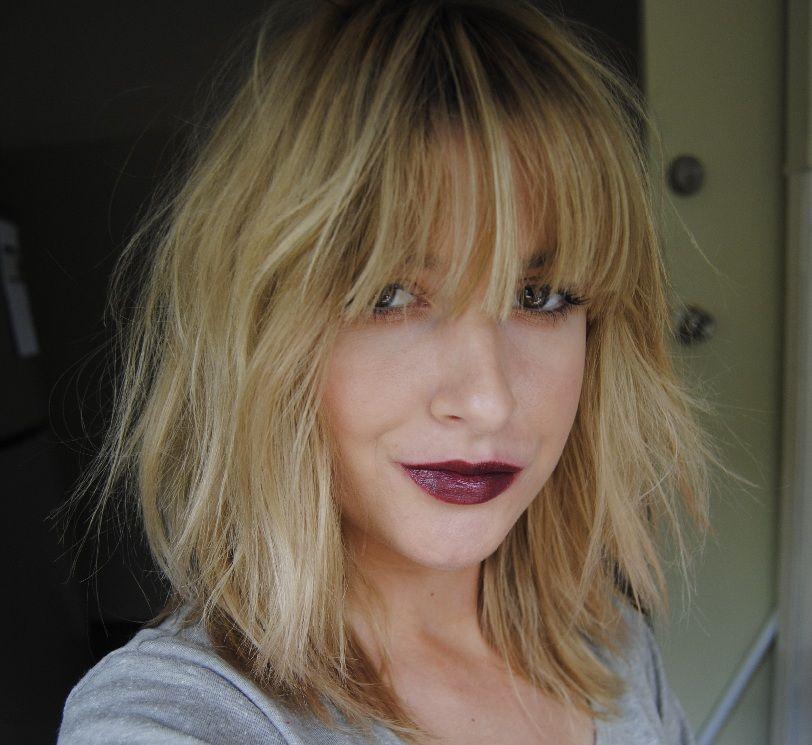 Chanel rouge noir hair makeup hairstyle hair