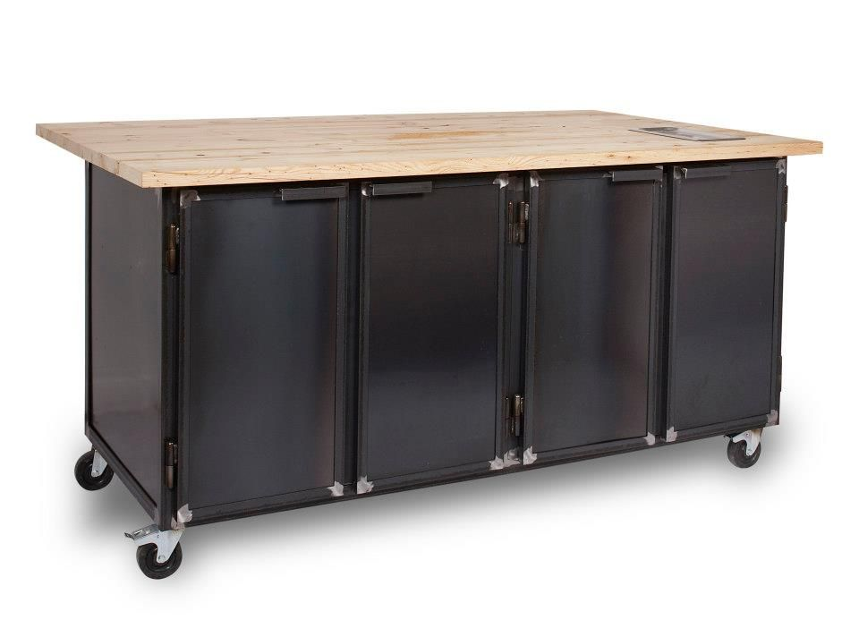 Kitchen Cabinet On Wheels