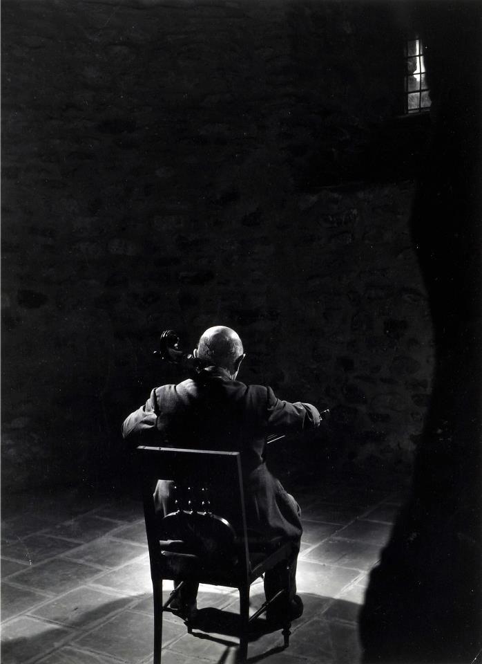 Yousuf Karsh, Pablo Casals, 1954