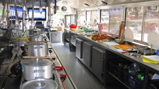 Visión Empresarial - Chef y asistentes estudiantes emprendieron hace cinco años una idea que promete seguir creciendo: acercar la escuela de gastronomía a las distintas localidades del interior de Salta.