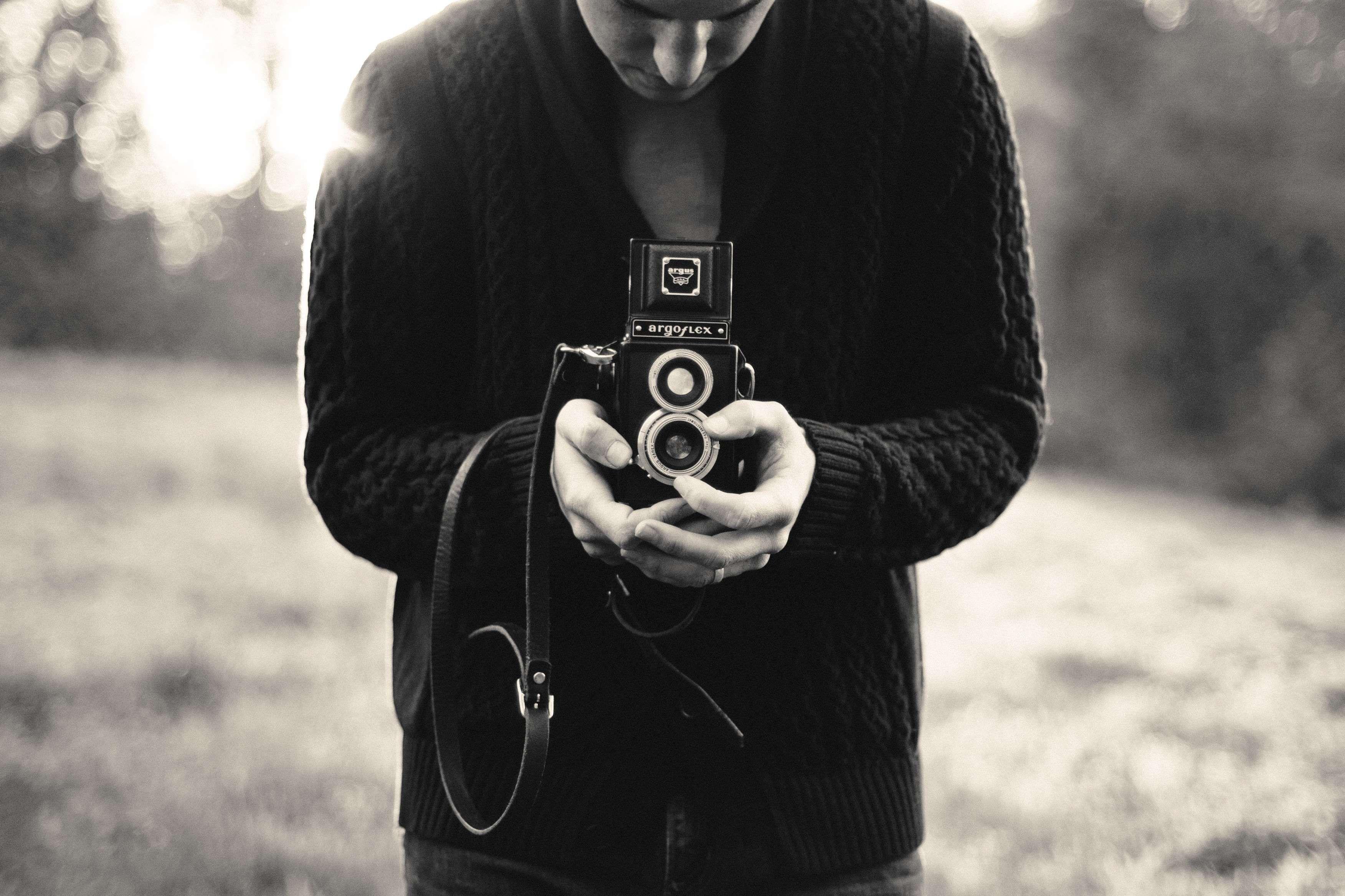 Argoflex Black And White Camera Digital Camera Lens Lense