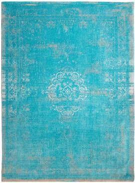 #Orientteppich Muster | gefärbt gewebt | #Vintage-Teppich #Aqua #türkis #sand #beige #vintage #teppich Bild vergrößern