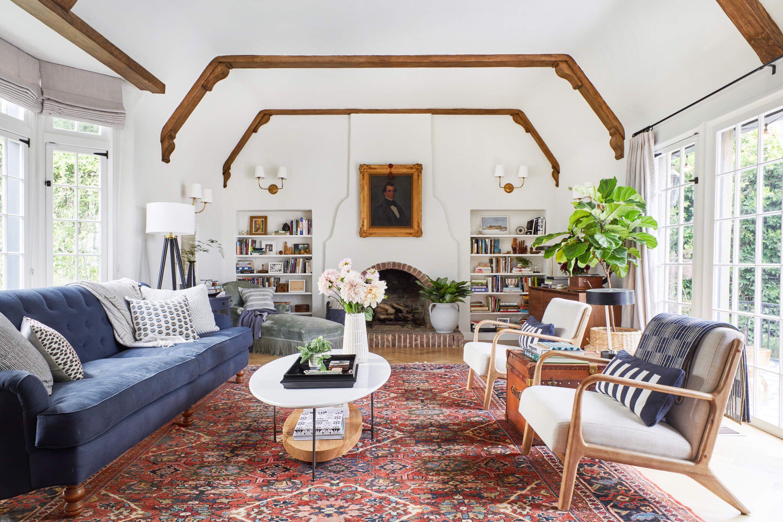 Emily Henderson Living Room Dining Room Bedroom