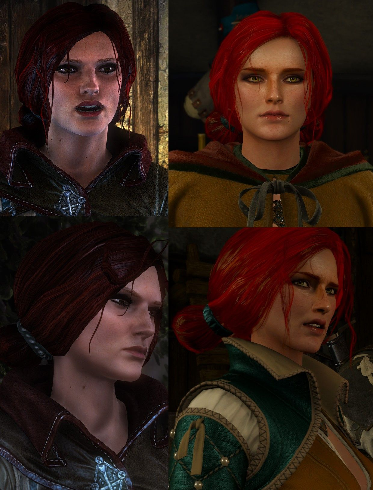 Witcher 3 New Hairstyles Best Hair Style Men In 2018 Pinterest