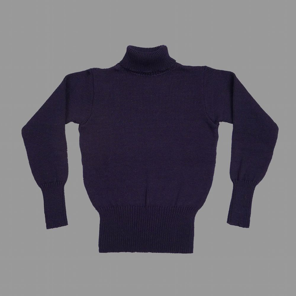 50a61e09acf4 North Sea Clothing The Diver navy wool sweater | clothes | Knitwear ...