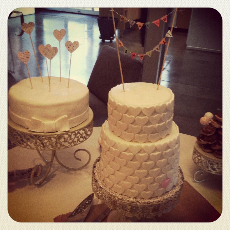 Wedding Cake DIY - Separate One Is Gluten Free