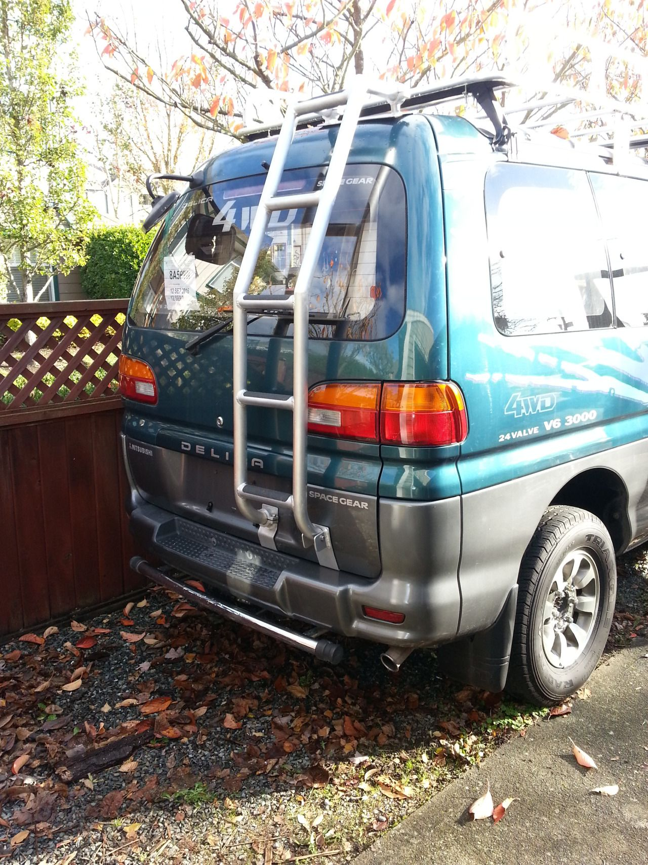 Custom Build Ladder And Roof Rack Completed Expedition Vehicle Suv Camper Roof Rack