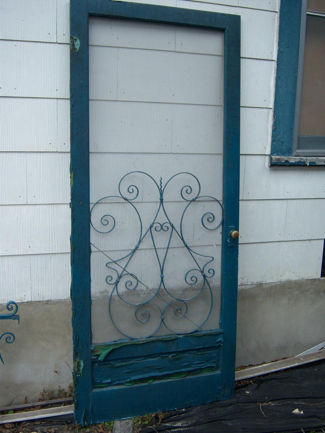 Vintage Screen Door Grilles Vintage Screen Doors Screen Door Diy Screen Door