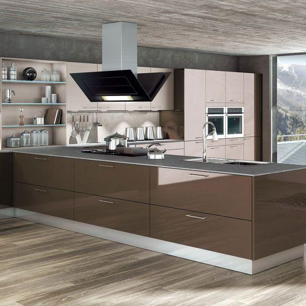 stunning cuisine avec de nombreux meubles de rangement