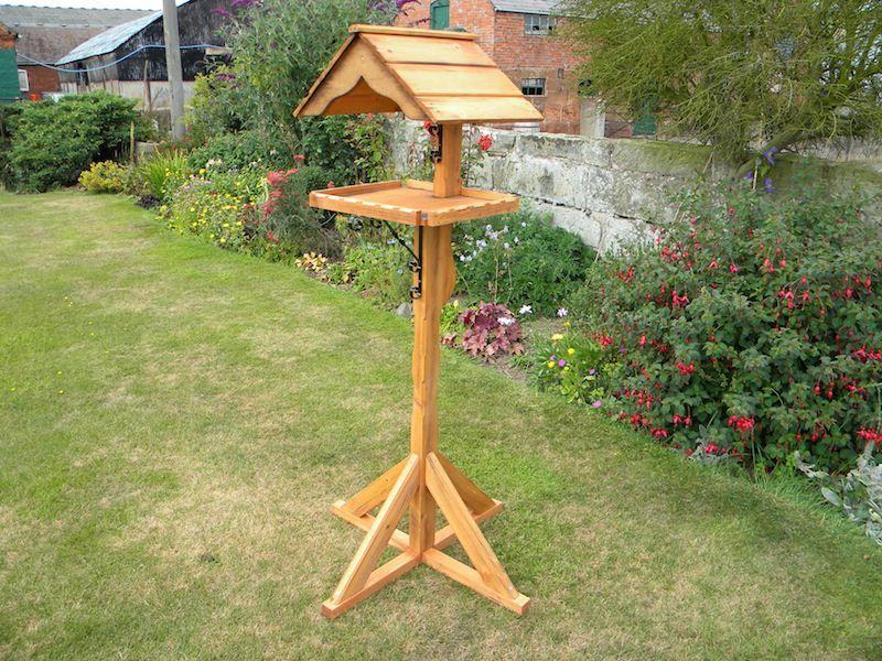 Free Wooden Bird Table Plans Bird Tables Table Plans Wooden Bird