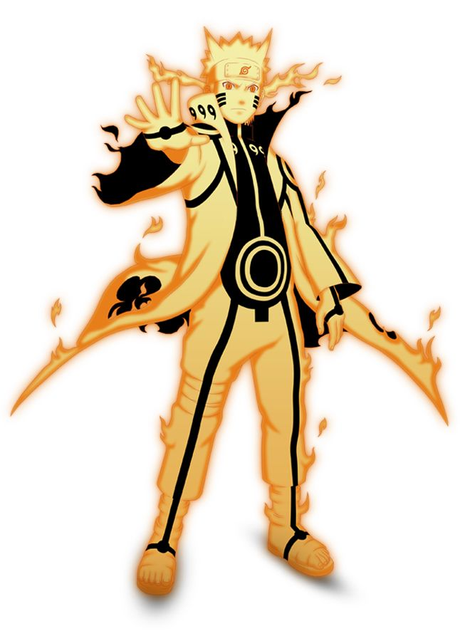 Nine Tails Chakra Mode Animasi Gambar