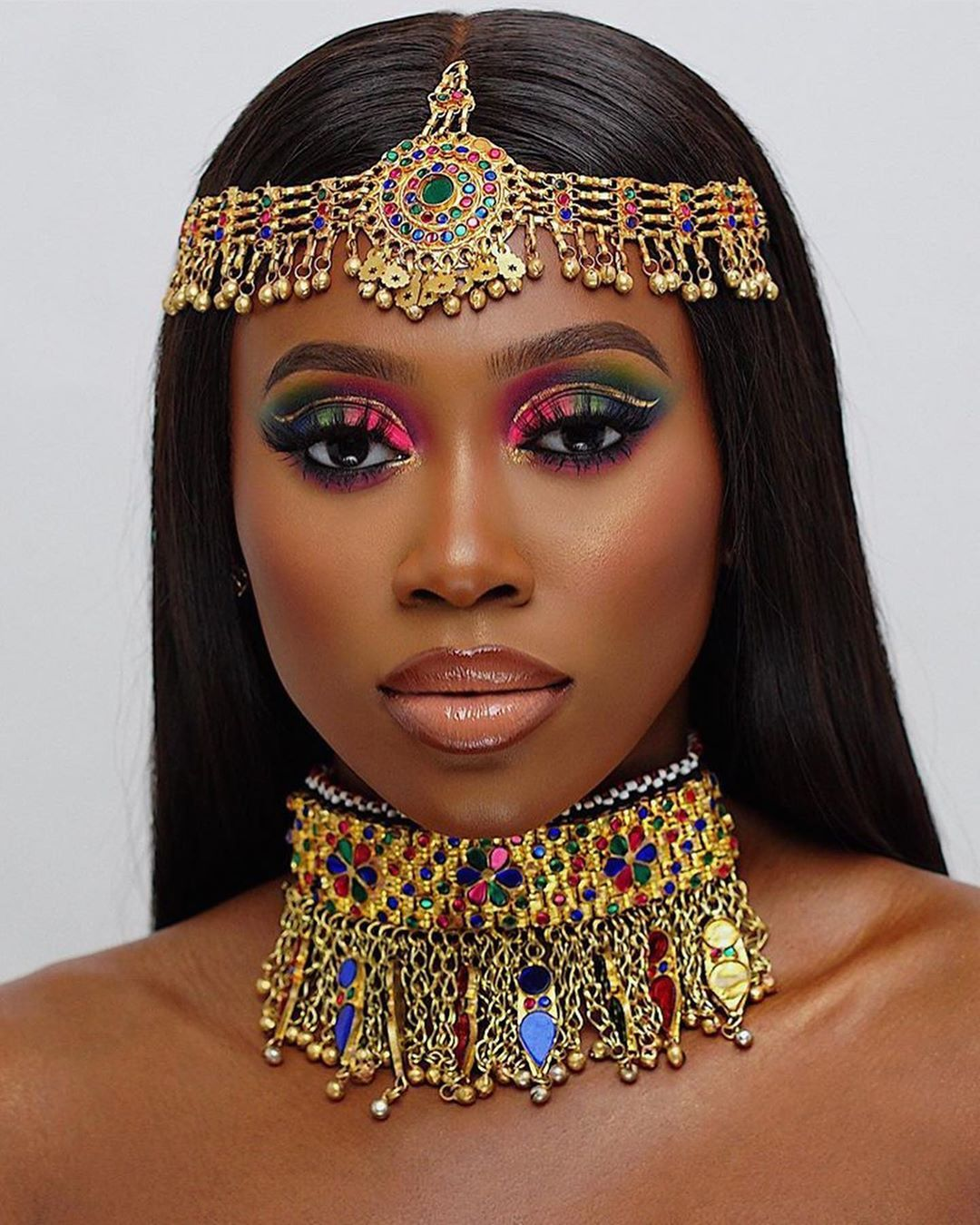 """African Makeup Artists Hub on Instagram """"The colours"""