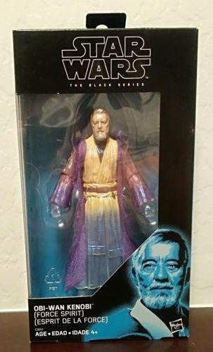 "Star Wars Black Series OBI-WAN KENOBI Force Spirit Figure Walgreens Exclusive 6"""