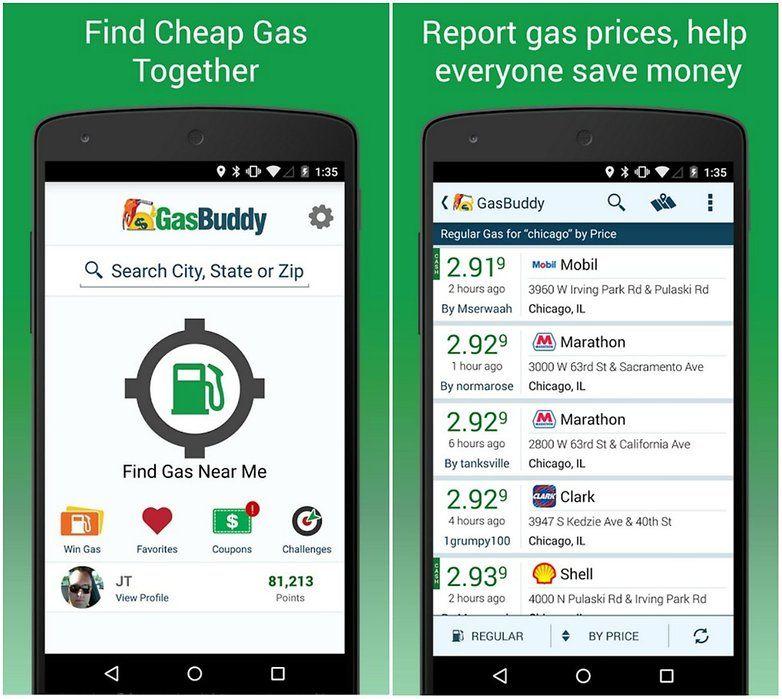 androidpit gasbuddy app Money saving apps, Saving money, App