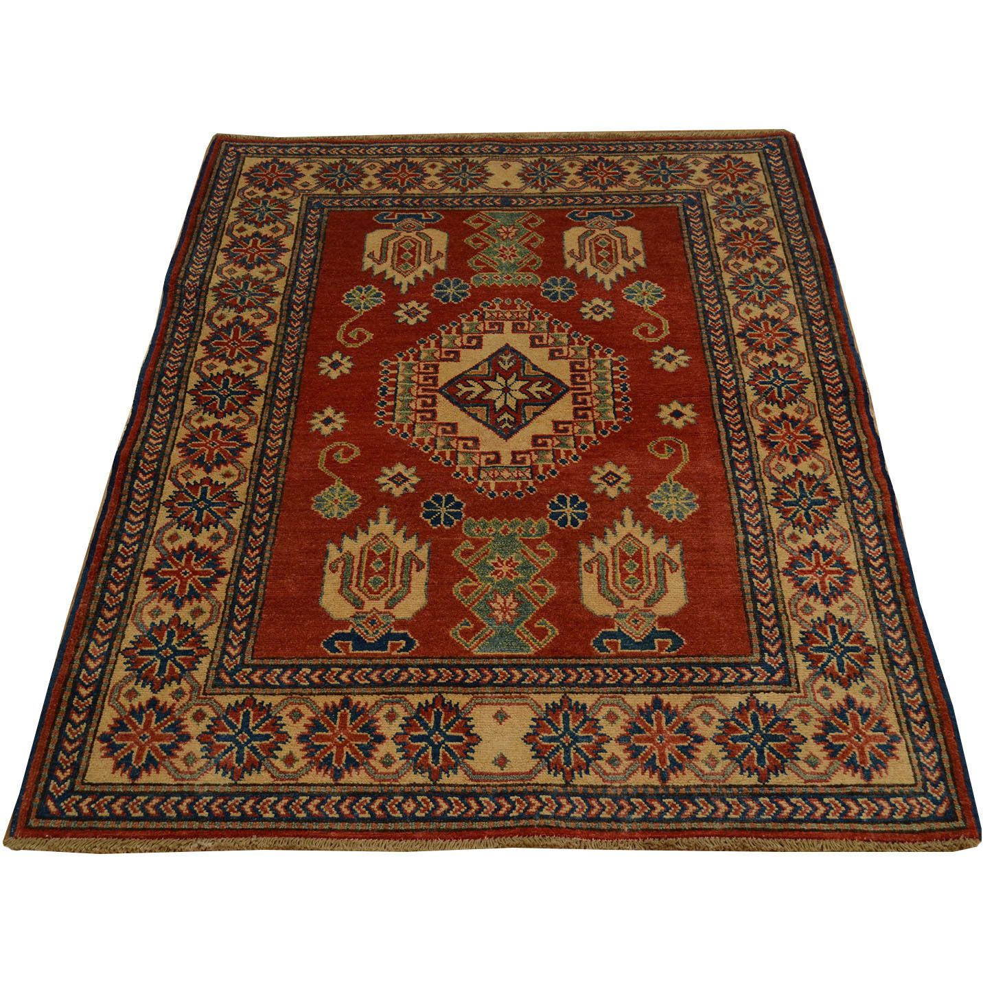 This Beautiful Rug Was Hand Knotted From High Quality Wool To Bring Elegance And